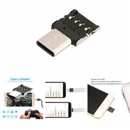 $enCountryForm.capitalKeyWord Australia - Type-c Mobile phone Adapter OTG , Multi-function Converter USB Interface to Type-c Adapter Micro-transfer Interface