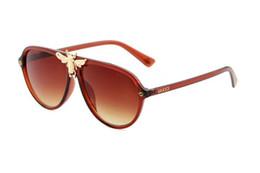 Product Brand Color Australia - Home> Fashion Accessories> Sunglasses> Product detail 1pcs Fashion classic man and woman brand sunglasses gold frame purple 58mm glass len