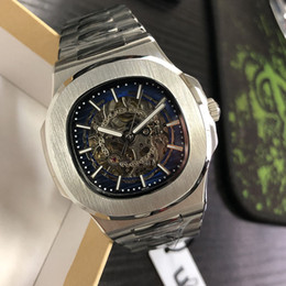 montre de luxe mens automatic Mechanical watches 41mm full stainless steel sapphire super luminous 5ATM waterproof U1 factory Wristwatches