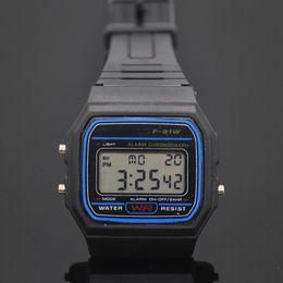 Men Digital Wrist Watches Australia - New Multifunctiona Cool Mens Sports Casual LED Digital Watch Soft Rubber Band Wrist Watches Men Clock relogio masculino 1pc