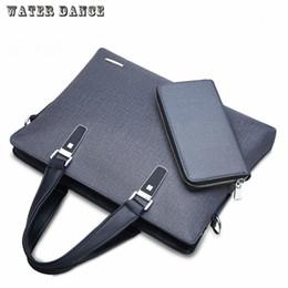 red crocodile handbags 2019 - Wholesale- New fashion men business bag Messenger bag handbag horizontal shoulder bag business briefcase leisure package