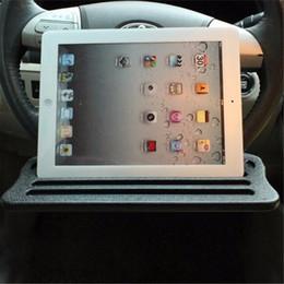 $enCountryForm.capitalKeyWord Australia - Car Holder Tablet Stand Drink Holder Universal Steering Wheel Tablet Car iPad Stand Desk Table iPad Support Wheel Tray