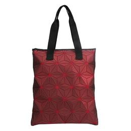$enCountryForm.capitalKeyWord Australia - Designer-Luminous ADlDAS Designer Handbag for Women Designer Tote Purse bag Folding Lattice Geometric Designer Hand bag for Ladies
