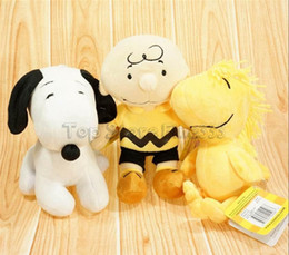 Discount peanut toys - Snoopy Peanuts Movie Charlie Brown And Snoopy Plush Toys Dolls Little Cute Woodstock Plush Stuffed Dolls for Kids