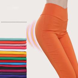 $enCountryForm.capitalKeyWord Australia - High Waist Pencil Women Pants White Stretch Skinny Long Leggings Black Trousers For Female 2019 Autumn Women's Clothes Plus Size