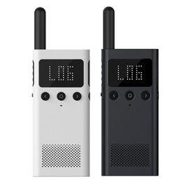 $enCountryForm.capitalKeyWord NZ - Original Xiaomi Mijia Smart Walkie Talkie 1S With FM Radio Speaker Smart Phone APP Location Share Bluetooth Earphone Interphone