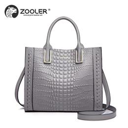 6d1ef103f7 Business OL lady Genuine leather woman bag ZOOLER 2019 NEW luxury designer bag  handbag Elegant high quality bolsa feminina  C165