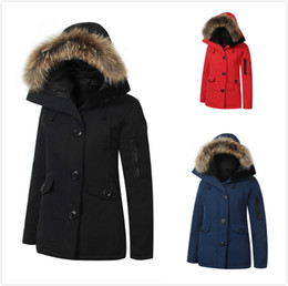 $enCountryForm.capitalKeyWord Australia - Brand New Canada Style Jacket Womens Real Duck down Raccoon fur Windstopper Waterproof MonteBello Parka Thick Winter Warm Coat