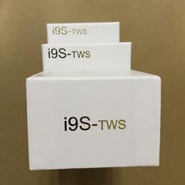 Опт i9 i9s-TWS Беспроводные наушники Стерео Bluetooth 5.0 Наушники-вкладыши для телефона IOS Android с магнитной зарядкой Коробка подарочный защитный чехол