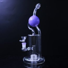 $enCountryForm.capitalKeyWord Australia - Recycler Bongs 12 inches Glass Ball Oil Rig Thick Percolator Dab Rig 14mm Female Joint Glass Smoking Water Pipes Free Shipping