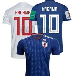 World Cup 2018 Japan Home Away Men s Soccer Jerseys Honda Kagawa Futbol Camisa  Football Camisetas Shirt Kit Maillot 42f742785