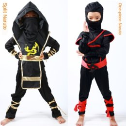 assassins costumes UK - Naruto cosplay costume Japanese anime Anime Costumes Costumes & Cosplay costume Samurai assassin suit children's performance clothes