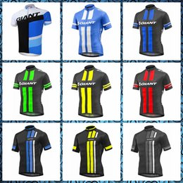 factory direct jerseys UK - GIANT Cycling Short Sleeves Comfortable Breathable jersey Wear resistant Quick drying free delivery Factory direct sales 53071