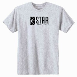 85c28cf5be S.T.A.R. Labs T-Shirt. The Flash Green Arrow custom printed tshirt,hip hop funny  tee,mens tee shirts