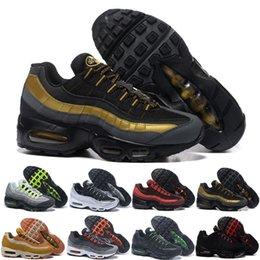 nike air max 95 airmax Diseñador Hombres Mujeres Zapatos para correr Grape Neon TT Negro Rojo Triple Blanco Entrenador barato Zapatillas deportivas Tamaño 5.5-12 GH684F en venta