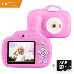 $enCountryForm.capitalKeyWord Australia - Kids Camera Gifts for 3-12 Year Old Girls HD 12.0MP 2.3'' Screen Video Camera for Kids Soft Anti-Drop Children Toy Camera Mini Camcorder wi