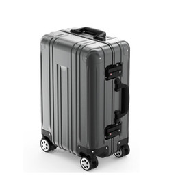 "$enCountryForm.capitalKeyWord NZ - 100% Aluminum trolley case,20""Boarding Luggage,Universal wheel password box,High-end suitcase,Hard-shell trunk,Portable valise"