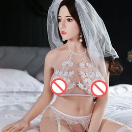 Silicone Male Toy Dolls Australia - 145cm Sex Dolls Real Silicone Love Dolls Lifelike Breasts Vagina Anal Metal Skeleton Male Masturbation Adult Toy Free Shipping
