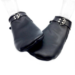 $enCountryForm.capitalKeyWord Australia - Puppy Bdsm Mittens,Leather Gloves Dog Paw Palm Padded Fist Mitts Bondage,Pet Play Accessories, Sex Toys For Couples