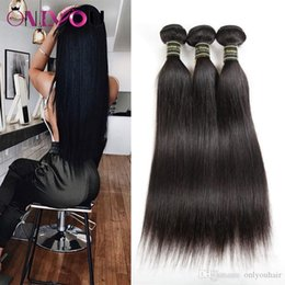 weave vendors Australia - Onlyou Hair? 10A Grade Straight Human Hair Weaves Bundles Brazilian Peruvian Indian Malaysian Virgin Remy Hair Extensions Vendors Wholesale