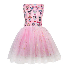 Boat cap online shopping - Gift LOL dress Girls Dresses Baby Girl Designer Clothes Kids Boutique Princess Summer Backless Bow Ball Gown Children Clothing