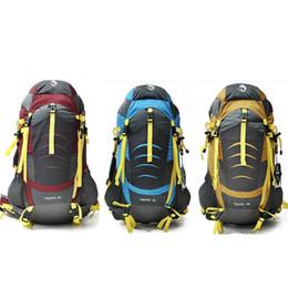 45l backpack 2019 - 45L Outdoor Sports Light Weight Waterproof Backpack Travel Hiking Bag Zipper Adjustable Belt Camping Knapsack Men Women