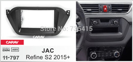 Radio fascias online shopping - 2Din Car Stereo Radio Fascia Panel Plate Frame Kit for JAC Refine S2