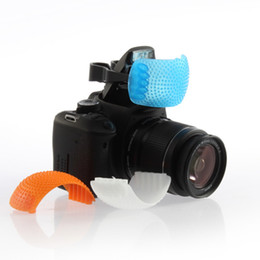 Wholesale 3 Color Good Qualtity Pop-Up Flash Diffuser Cover for Canon for Nikon