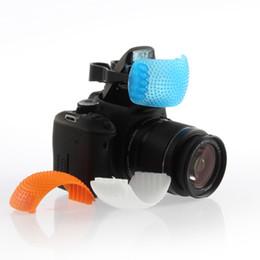 Venta al por mayor de Tapa de difusor de flash pop-up Good Quality de 3 colores para Canon para Nikon