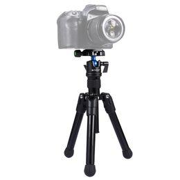Professional Digital Cameras Dslr UK - Photographic Portable Alloy Tripod For DSLR Digital Camera Professional Mini Tripod Portable Micro-distance Photography Load Bearing 3KG