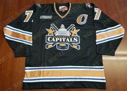 74e0b4321 Cheap custom Adam Oates Washington Capitals Vintage Pro Player Jersey 99  2000 2 Patch Stitched Retro Hockey Jersey XS-5XL