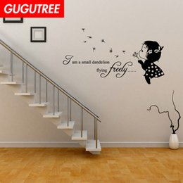 $enCountryForm.capitalKeyWord NZ - Decorate Home girl cartoon art wall sticker decoration Decals mural painting Removable Decor Wallpaper G-2052