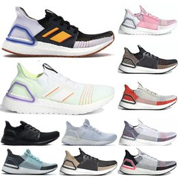 up toys NZ - 2019 Toy 4 UltraBoost 19 Woody Light Green Triple White Core Black Oreo Multicolor Brown Shoes Men Women Ultra Boost UB 5.0 PK Sneakers