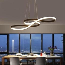 $enCountryForm.capitalKeyWord Australia - Minimalism DIY Hanging Modern Led Pendant Lights For Dining Room Bar suspension luminaire suspendu Pendant Lamp Lighting Fixture