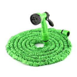$enCountryForm.capitalKeyWord UK - Wholesale 25FT-100FT Plastic Materials A+Quality Blue Water Spray Nozzle Sprayers &Expandable Flexible Water hose Garden Pipe Set