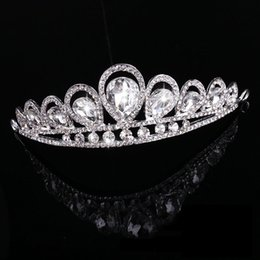 Wholesale CC tiaras and crowns children hairbands wedding hair accessories for women bridesmaids party handmade small fine gifts MA11
