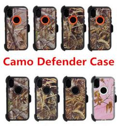88a393c5361 Robot híbrido Camo Funda Defender 3 en 1 para iPhone X Max XR 6 6s 8 7 Plus  Nota 9 W   Clip de cinturón   Soporte de soporte