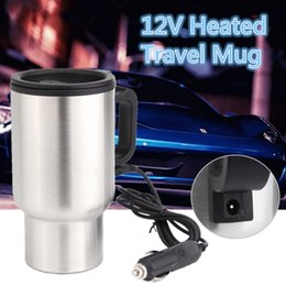 $enCountryForm.capitalKeyWord Australia - 12V 450ml Car Hot Kettle Vehicle Mounted Thermal Travel Cup Handy Pot thermostat Bottle Stainless Steel Coffee Heated Mug Water Heater Maker