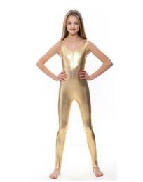 $enCountryForm.capitalKeyWord Australia - Adults Girls Gold Tank Stirrups Unitards Metallic Kids Ballet Dance Leotards Gymnastics Toddler Shiny Dancewear Child Performance Suits