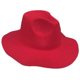 Elegant Women Vintage Retro Wool Floppy Wide Brim Cloche Hat Cap fashion ladies  sun hat 35aaff147bbf