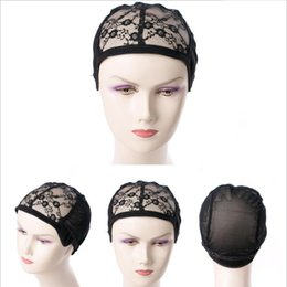 Discount mesh weaving wig cap - Wig Caps Lace Professional Weaving Caps for Making Wig Soft Mesh Wigs Cap and Nylon Wig Cap