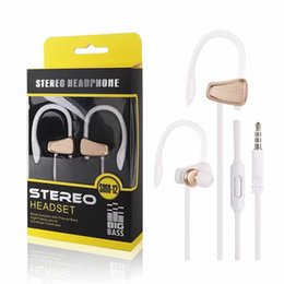$enCountryForm.capitalKeyWord Canada - New 3.5mm jack In ear Earphone earhook headsets w mic and control talk headphones for iphone samsung htc ipad with retailbox