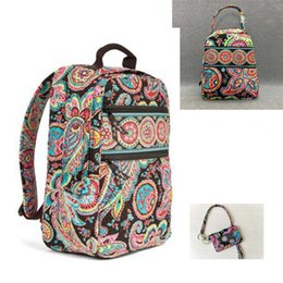 China NWT Campus Backpack Student School Backpack with lunch bag with Card bag supplier navy style backpack suppliers