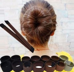 $enCountryForm.capitalKeyWord NZ - Fashion Women Twist Hair Bun Maker Donut Styling Braid Holder Accessory Tool Perfect P3
