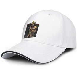 Legends Hats Australia - Apex Legends BLOODHOUND Technological Tracker Unisex Mens Cap Woman Hat Cool Cotton Snapback Flatbrim Workout Hats Baseball Caps for Men