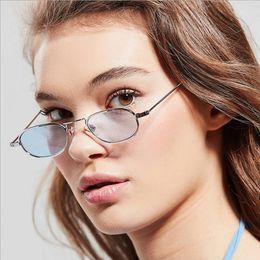 0d4d1487d599e Small Round Sunglasses Women Fashion Luxury Retro Metal mirror Sun Glasses  Vintage Brand Designer Red Glasses UV400