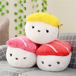 $enCountryForm.capitalKeyWord Australia - 20170709 Hot Sale 40CM Creative Shape Plush Toys Stuffed Sofa Pillow Kawaii Cushion Simulation Food Doll Gift For Girls Kids