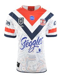 79a4769ce56 2019 2020 SYDNEY ROOSTERS Home ANZAC INDIGENOUS rugby Jerseys National Rugby  League shirt AUCKLAND JERSEY shirts s-3xl