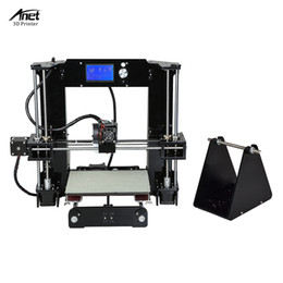 Lcd screen sizes online shopping - Anet A6 High Precision Big Size Desktop D Printer Kits i3 DIY Self Assembly LCD Screen with GB SD Card