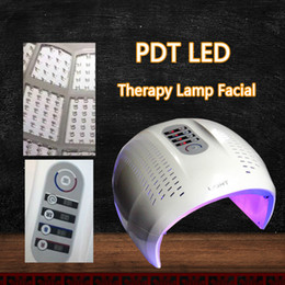 Discount color therapy machines - Hot Sale Foldable 4 Color LED Facial Treatment Photon Therapy Mask PDT Skin Rejuvenation Face Beauty Machine LED Light T